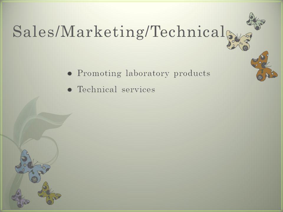 Sales/Marketing/Technical