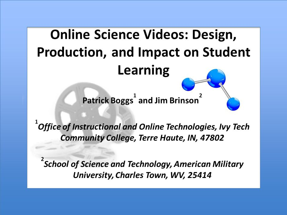 Student Viewing Frequency and Experience with Online Learning = Yes = No *There were no Strongly Disagree responses 90.7% 88.8% 61.6% 31.3% 11.3% 9.3% 11.2% 38.4% 68.7% 88.7% Watched all of the videos Watched at least one of the videos two or more times Watched 2-6 of the videos two or more times Watched all of the videos two or more times First time taking an online course