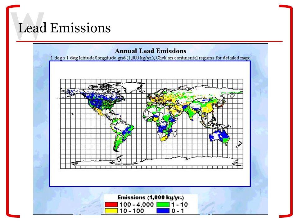 Lead Emissions