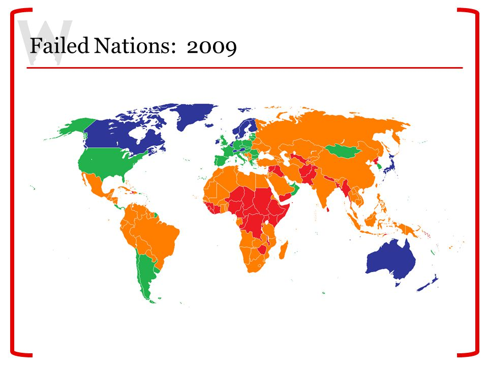 Failed Nations: 2009