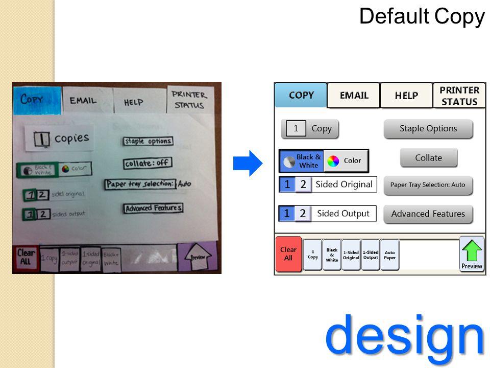 design Status Bar