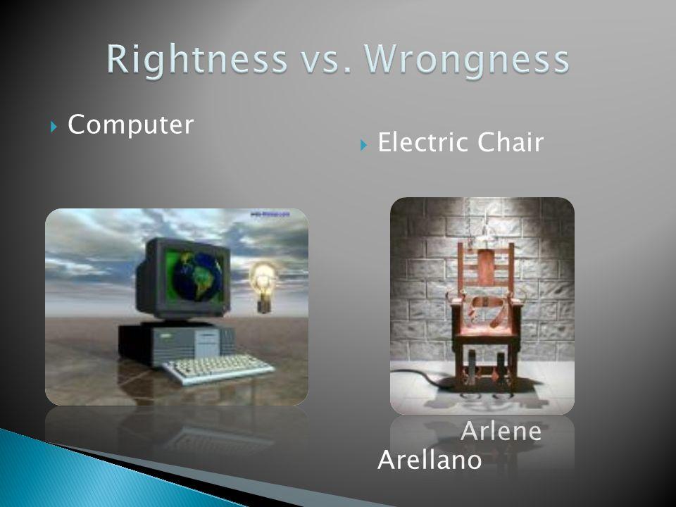  Computer  Electric Chair Arlene Arellano