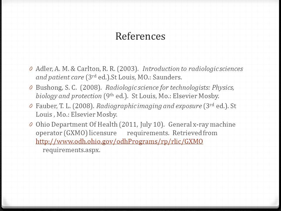References 0 Adler, A. M. & Carlton, R. R. (2003).