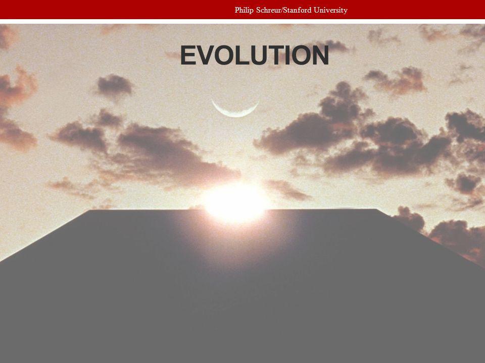 EVOLUTION Philip Schreur/Stanford University