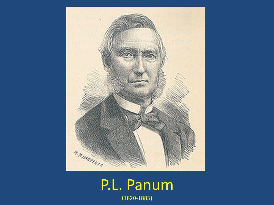 P.L. Panum (1820-1885)