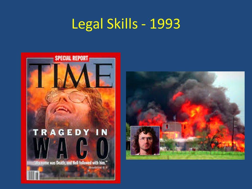 Legal Skills - 1993