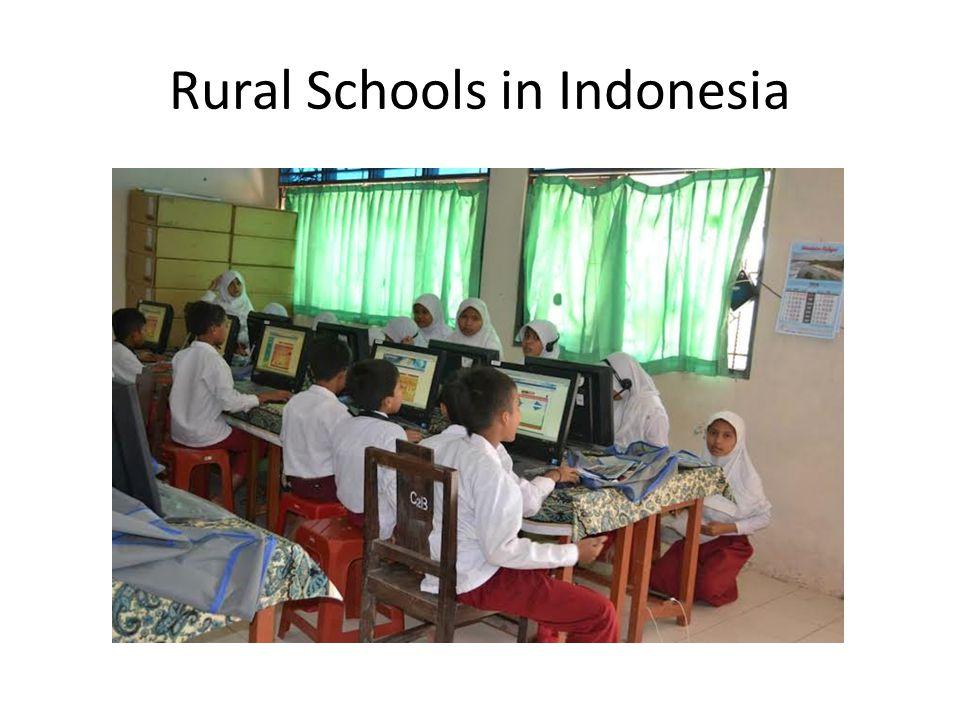 Rural Schools in Indonesia