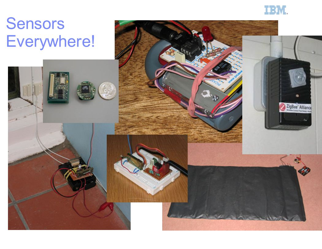 IBM Smarter Planet 8 Sensors Everywhere!