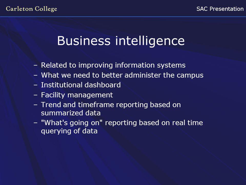SAC Presentation Building a Smart Campus –Smart Buildings.
