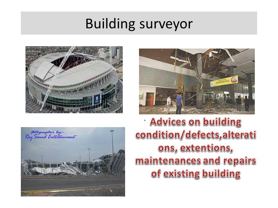 Building surveyor.