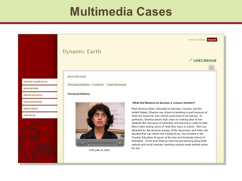 Multimedia Cases