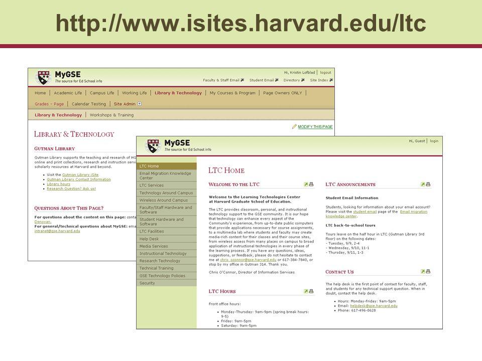 http://www.isites.harvard.edu/ltc