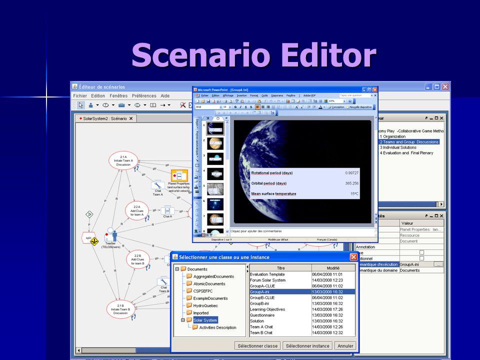 Scenario Editor