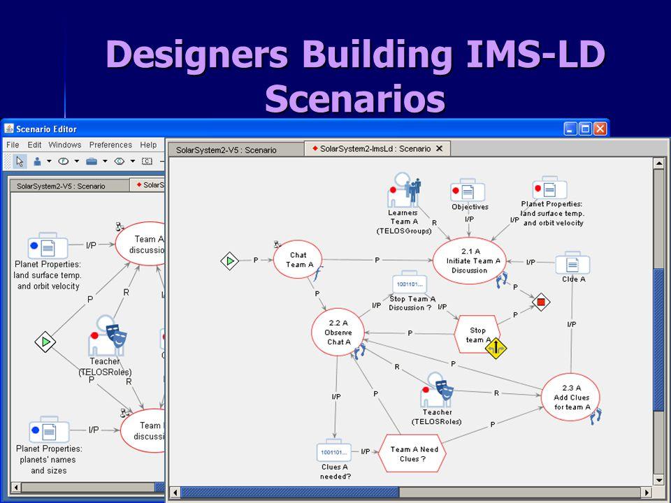 Designers Building IMS-LD Scenarios