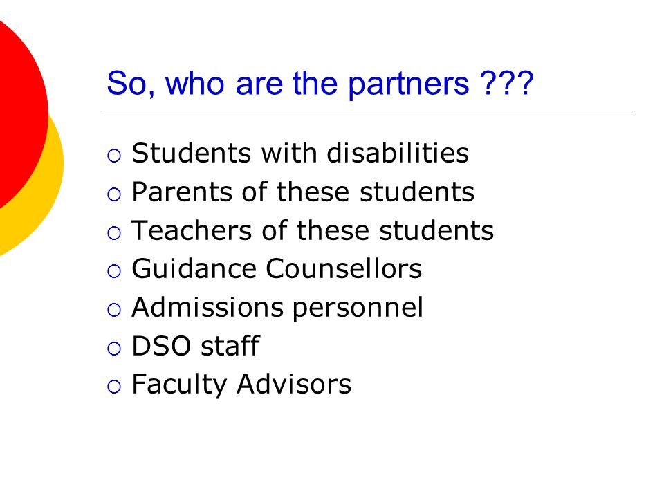 So, who are the partners ??.