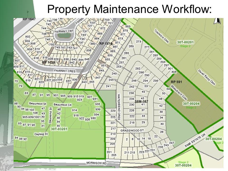 Property Maintenance Workflow: