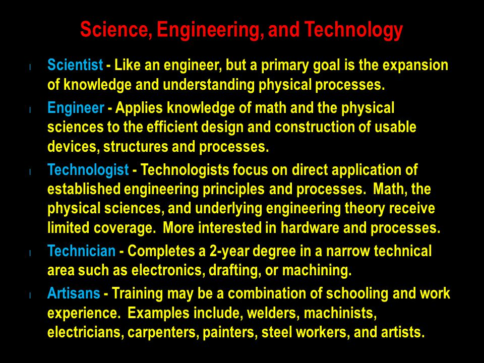 Interdisciplinary Engineering Fields Are you an artist, musician, or athlete.