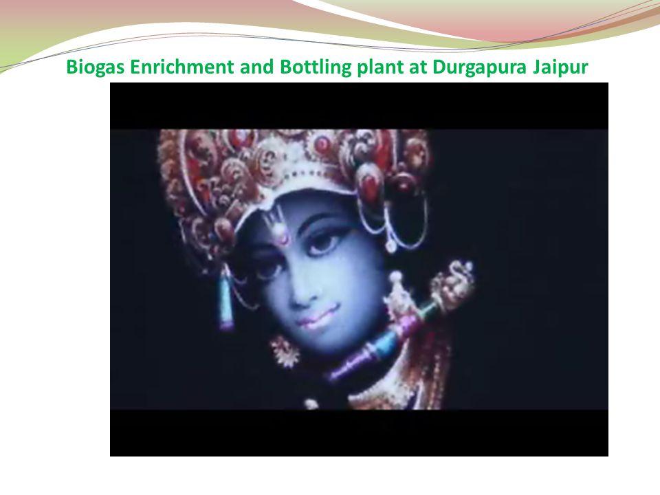 Biogas Enrichment and Bottling plant at Durgapura Jaipur