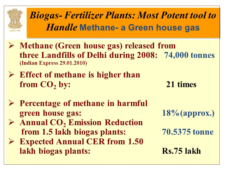 4/27/20157  Methane (Green house gas) released from three Landfills of Delhi during 2008: 74,000 tonnes (Indian Express 29.01.2010)  Effect of metha