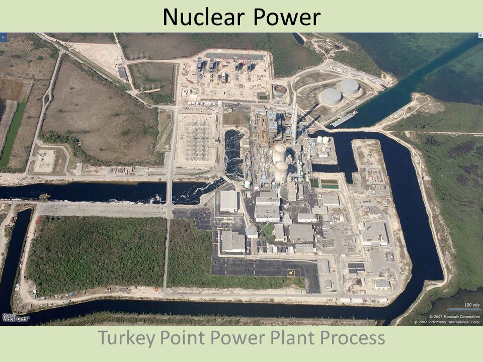 Nuclear Power Turkey Point Power Plant Process