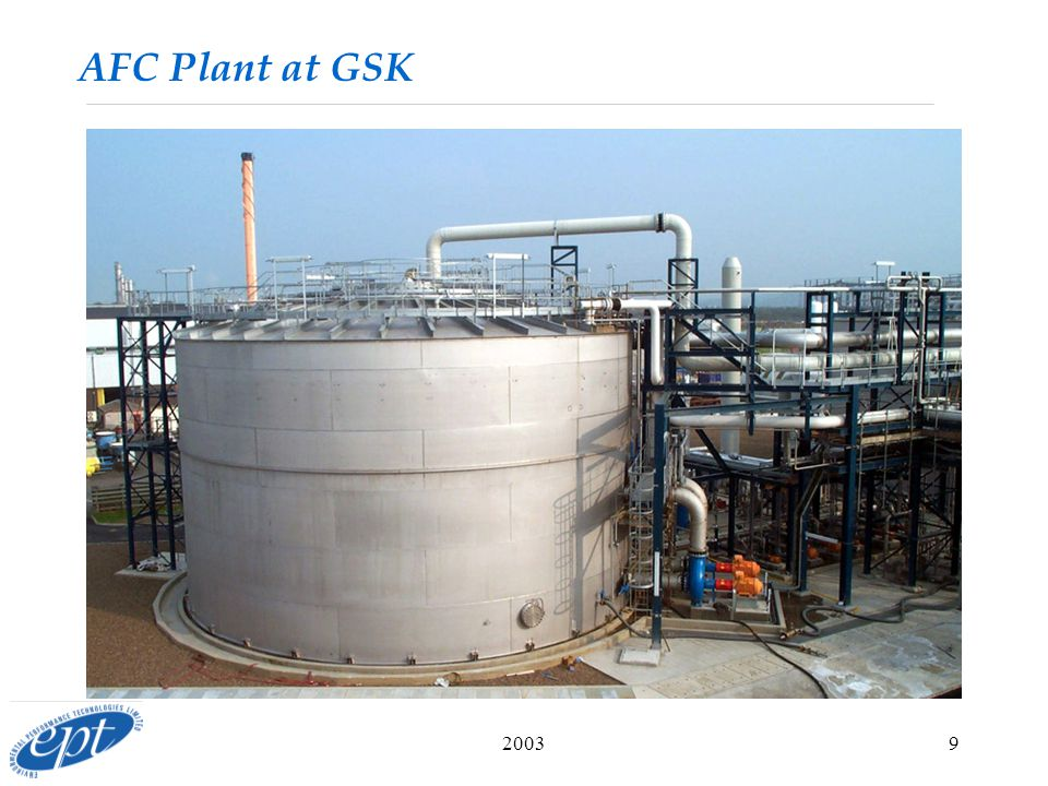 20039 AFC Plant at GSK
