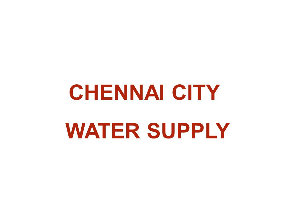 e-GOVERNANCE INITIATIVES IN CHENNAI METROWATER  2003 – Introduction of Information System and Technology Planning (ISTP) in Area-V as a pilot project using Oracle ERP 11i with the Sun Solaris Operating System  2005 – Extension of ISTP for the remaining 9 Areas and connected Depots  2007 – All the 10 Areas and the Depots have been fully integrated to the Central server at Head office  2007 – Introduction of Credit Card of any Bank by logging on the website of Metro water for paying water taxes and charges