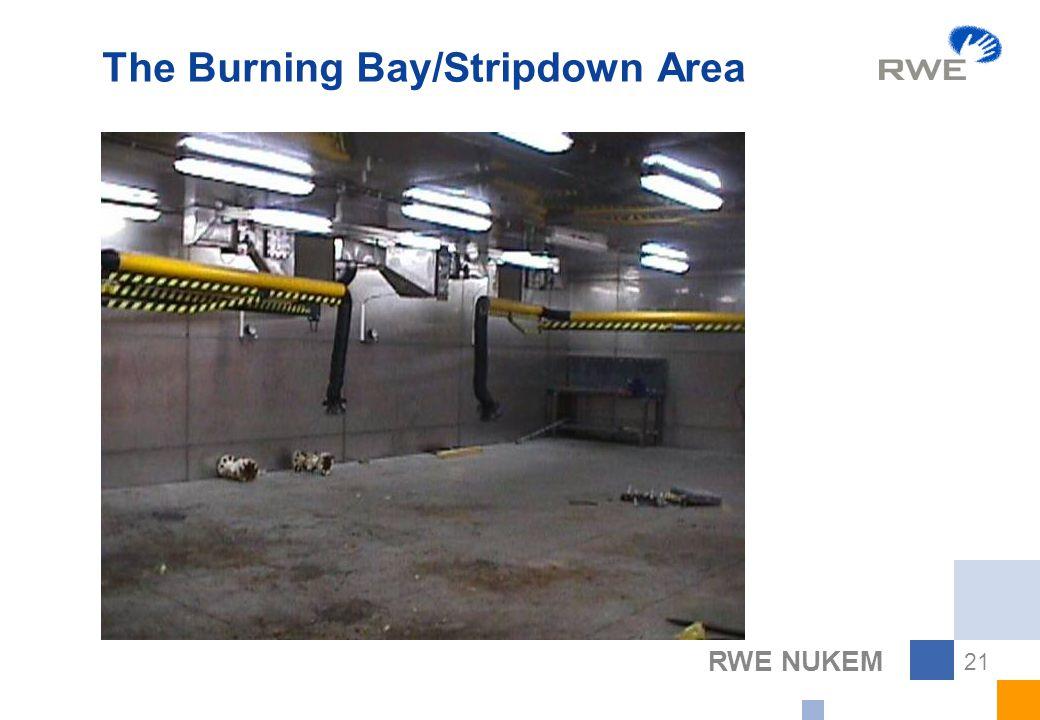 RWE NUKEM 21 The Burning Bay/Stripdown Area