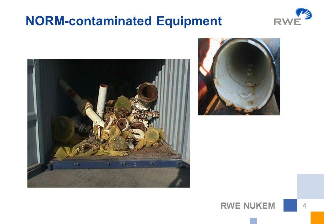 RWE NUKEM 4 NORM-contaminated Equipment