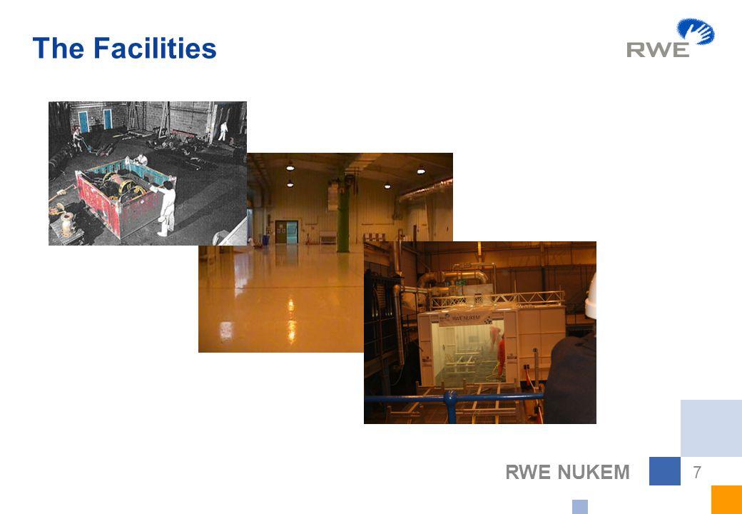 RWE NUKEM 7 The Facilities