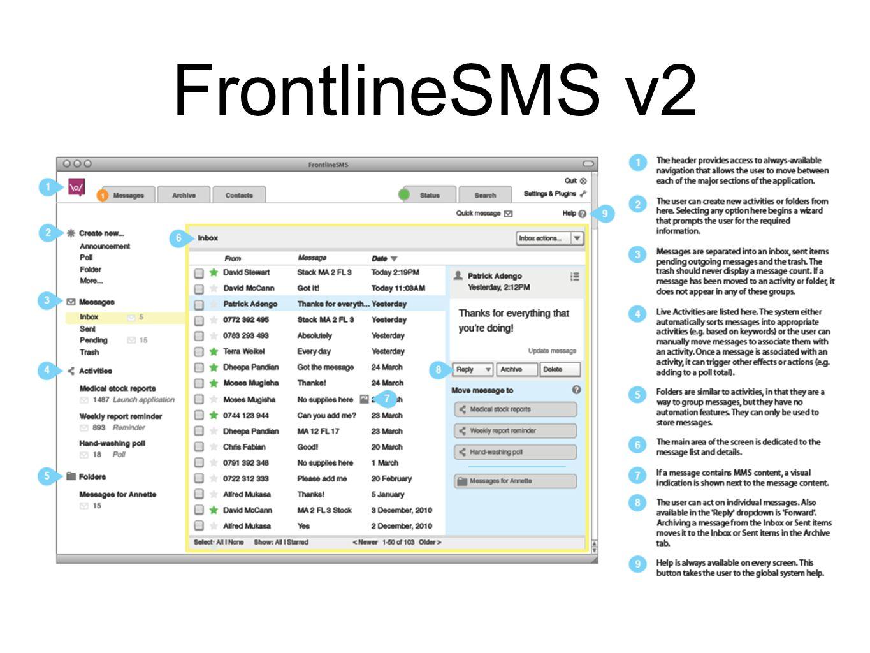 FrontlineSMS v2