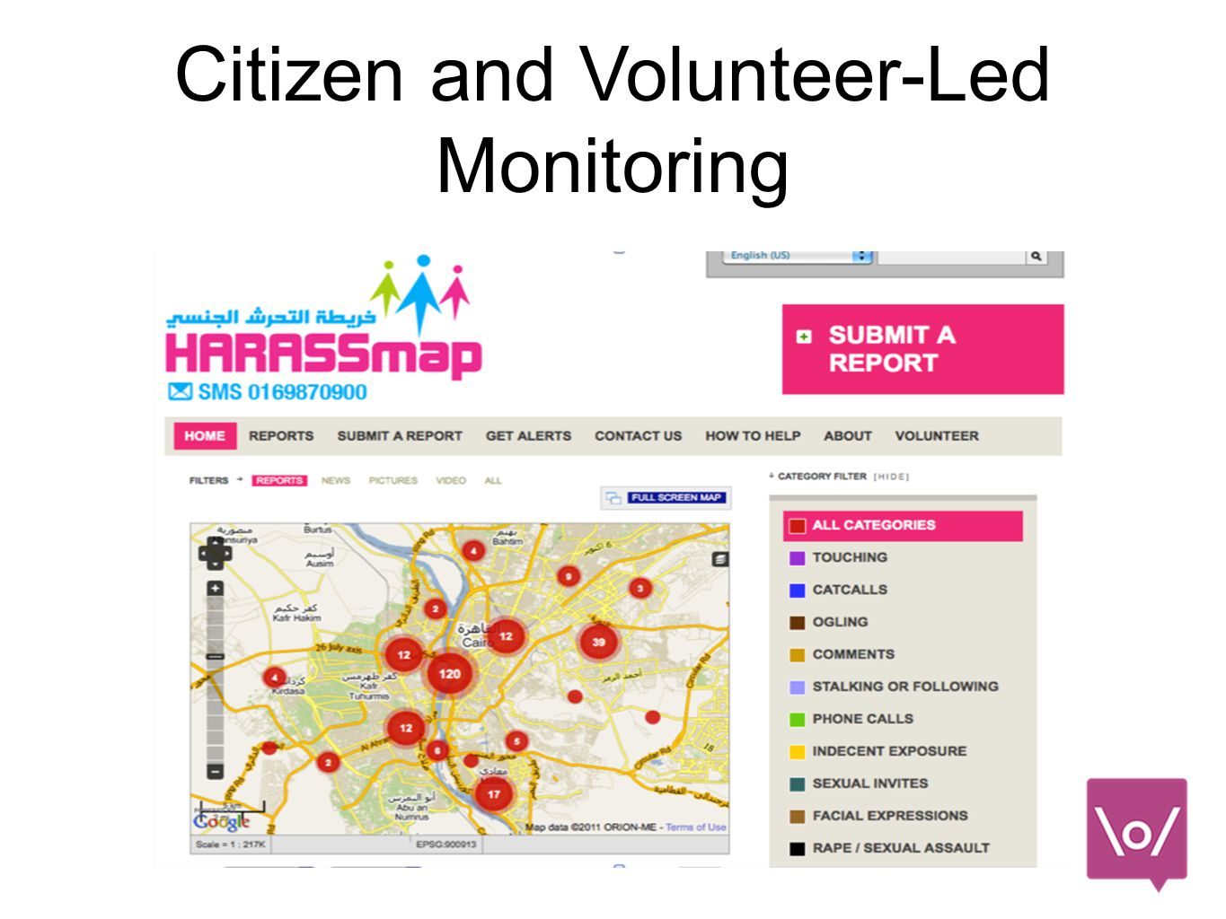 Citizen and Volunteer-Led Monitoring