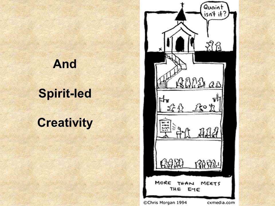 And Spirit-led Creativity