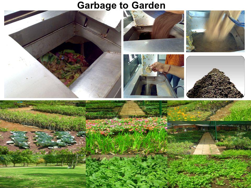 www.excelind.co.in email:hvgandhi84@excelind.com mobile:09820330187 Garbage to Garden