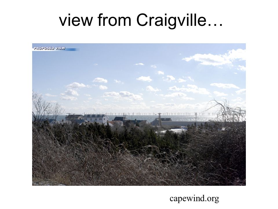 view from Craigville… capewind.org