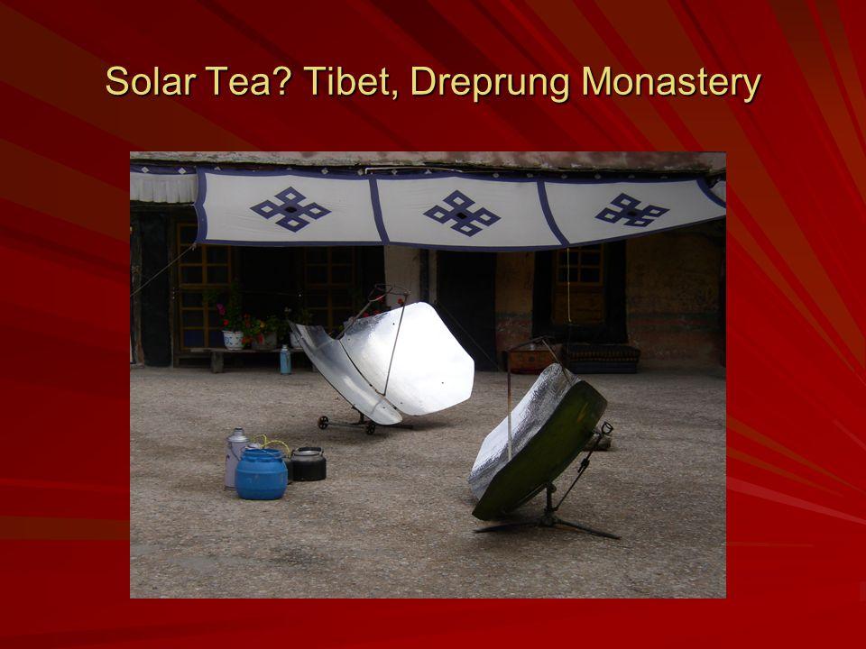 Solar Tea Tibet, Dreprung Monastery