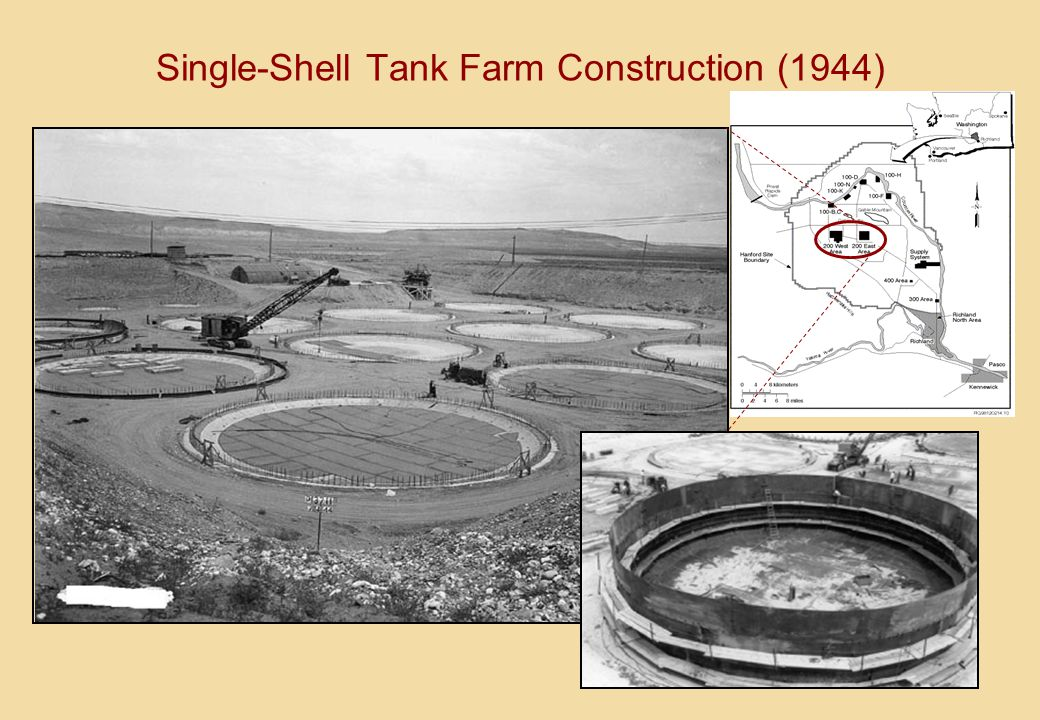 Single-Shell Tank Farm Construction (1944)
