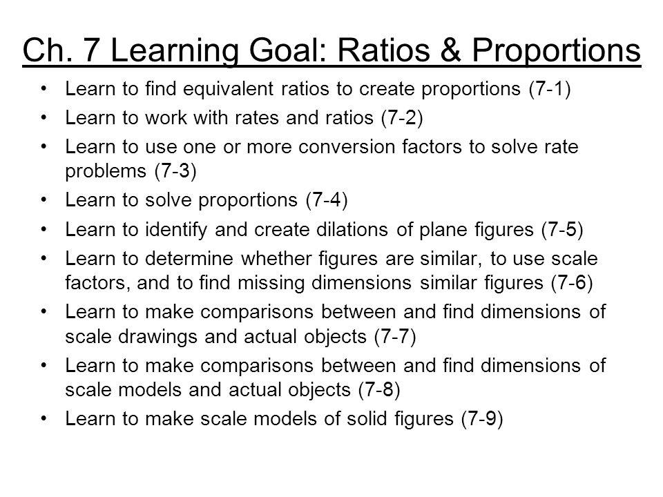 Pre-Algebra 7-5 Dilations Pre-Algebra Homework Page 364 #7-12 & #20-24 (Spiral Review)