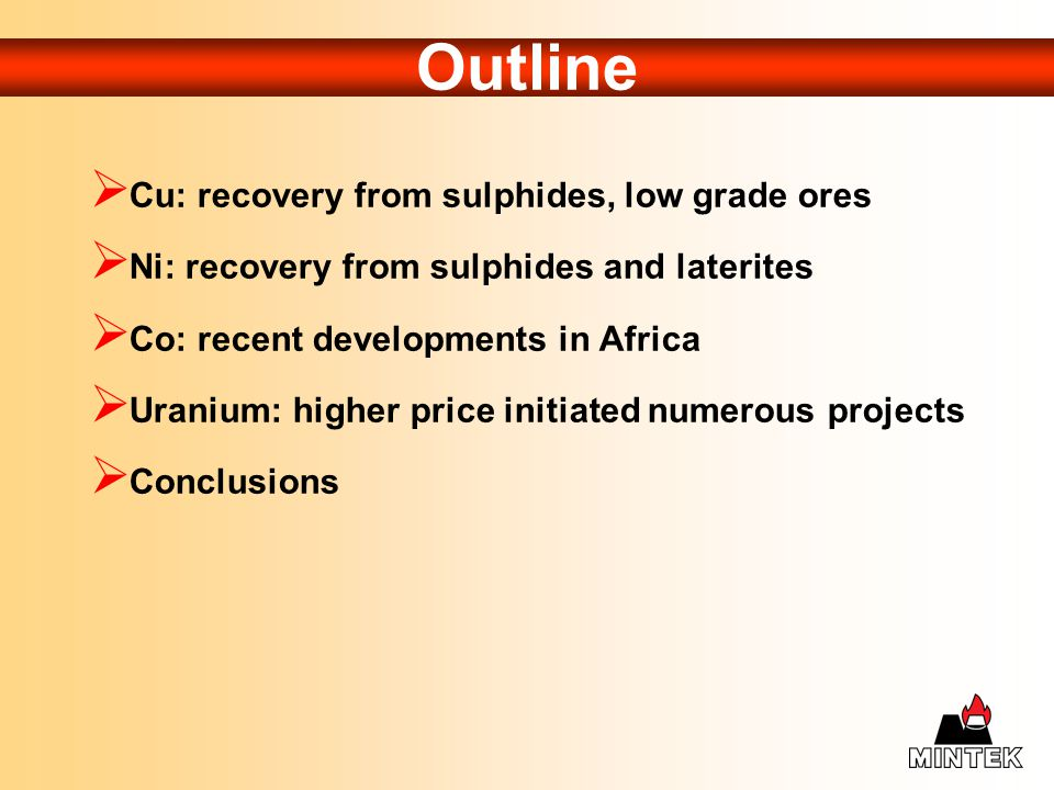 Olympic Dam – recovery of Uranium by BPcs