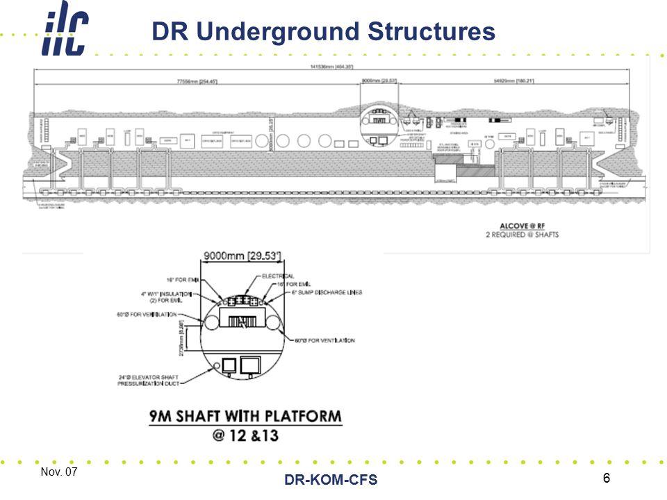 DR-KOM-CFS 6 Nov. 07 DR Underground Structures