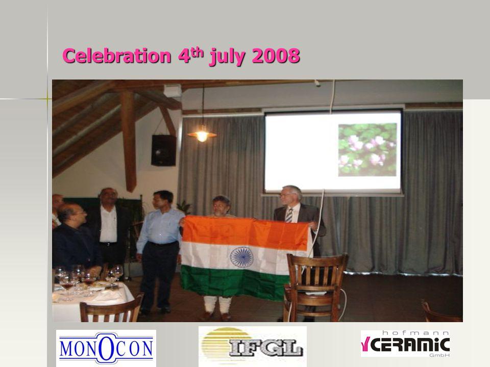 Celebration 4 th july 2008
