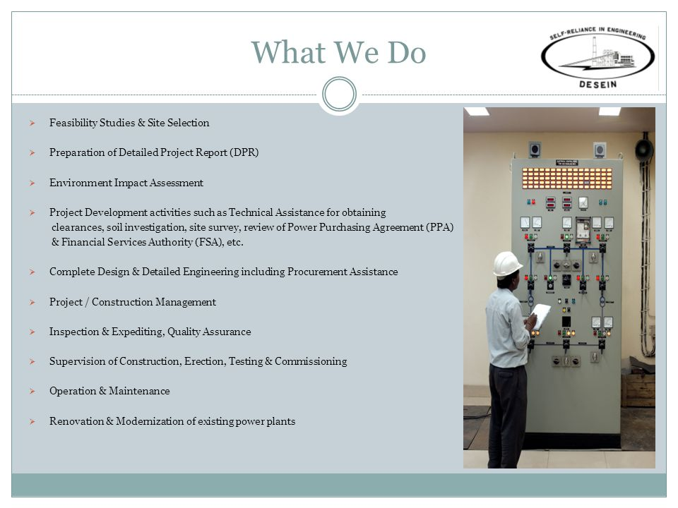 Manpower We are a team of over 2000 people comprising more than 500 power engineers.
