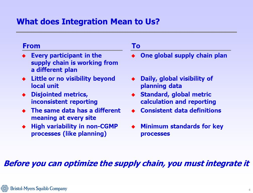 4 What does Integration Mean to Us.