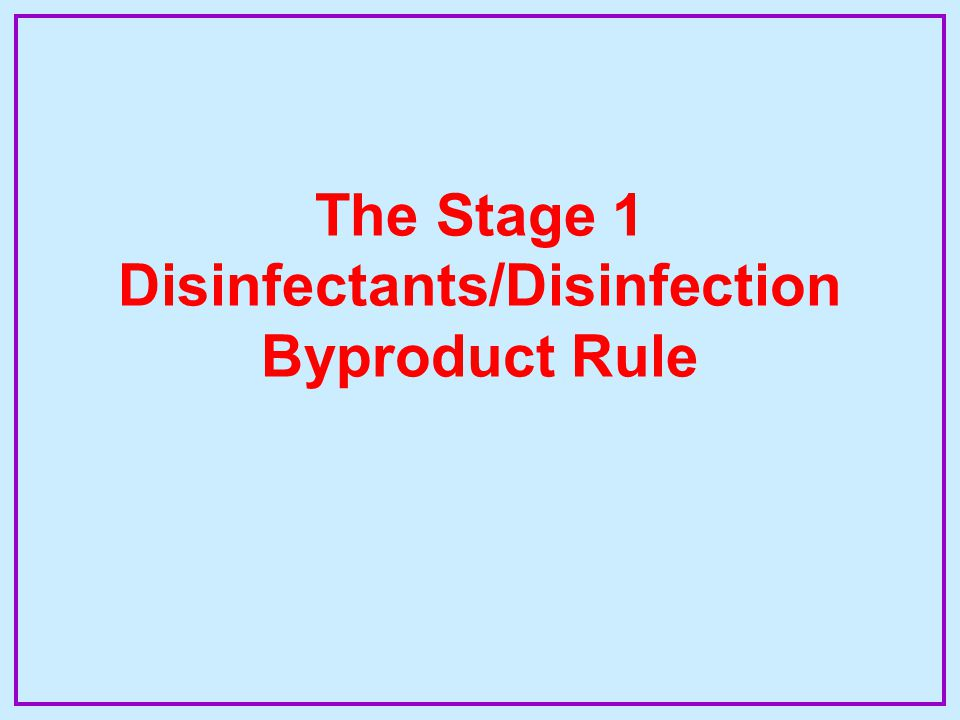 § 141.135 Treatment Technique For DBPP Step 2 Alternative Minimum TOC Removal Requirements –Application Within 3 Months of Failure –Bench- or Pilot-scale Testing 10 mg/L Increments of Coagulant Step 2 Target pH –Step 2 Removal An Incremental Dose Achieves  0.3 mg/L TOC Removal Point of Diminishing Return (PODR) –States May Make Step 2 Retroactive