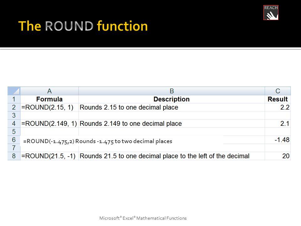 Microsoft ® Excel ® Statistical Functions =AVERAGEIF(B2:B5, <23000 )