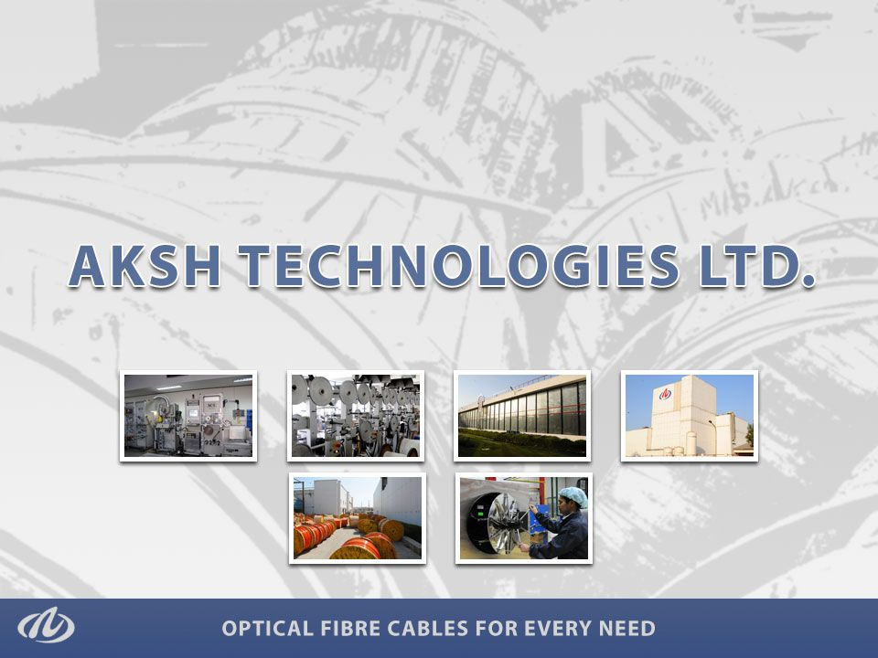 Established in 1986 with 3 Optical Fibre Cable manufacturing units.