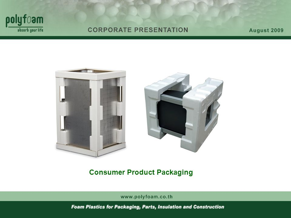 Consumer Product Packaging