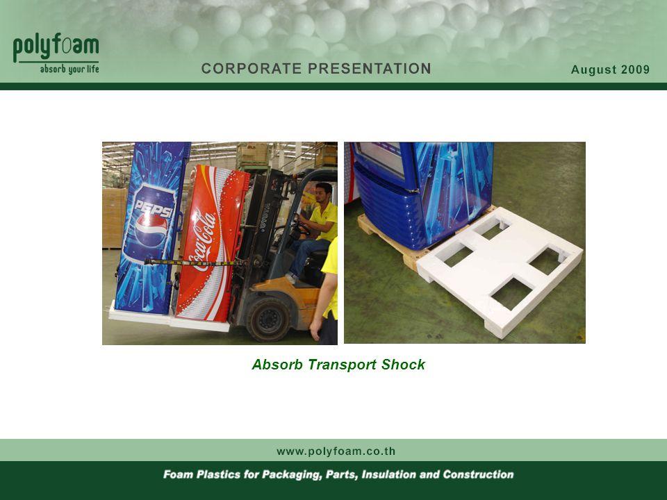 Absorb Transport Shock Advantage