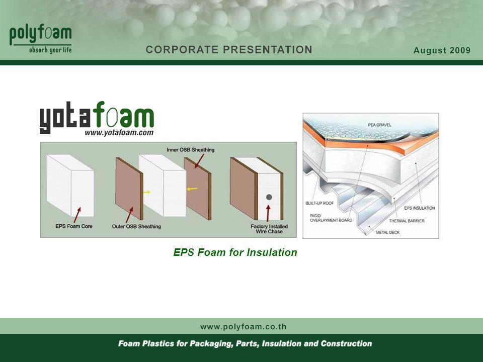 EPS Foam for Insulation
