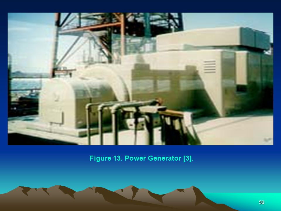 50 Figure 13. Power Generator [3].