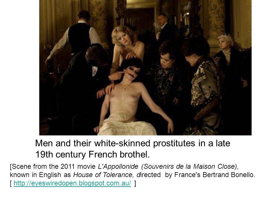 [Scene from the 2011 movie L'Appollonide (Souvenirs de la Maison Close), known in English as House of Tolerance, directed by France's Bertrand Bonello
